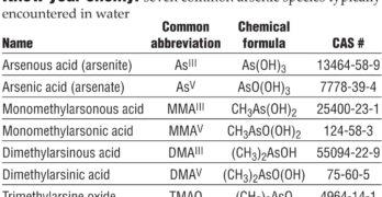 Arsenic: the Mysterious Metalloid